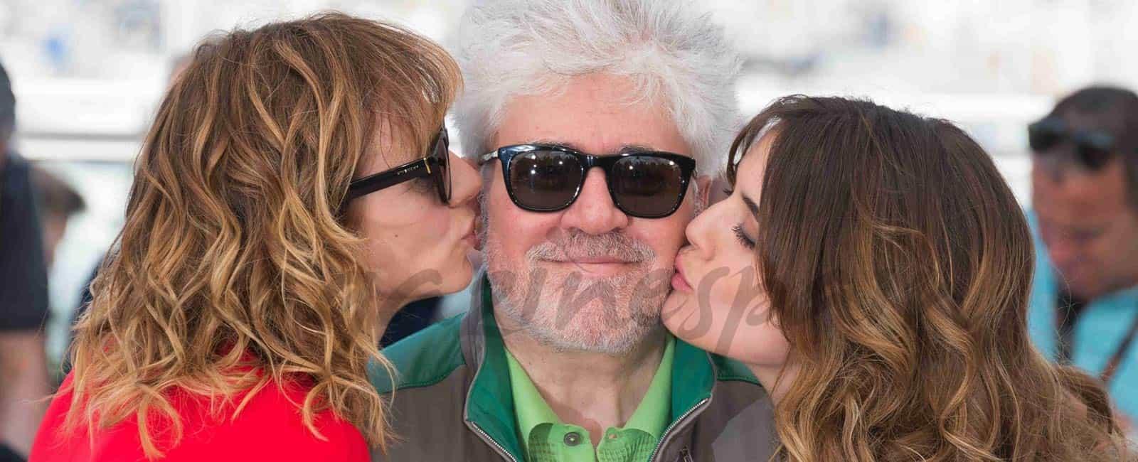 Pedro Almodóvar y sus «julietas» llegan a Cannes