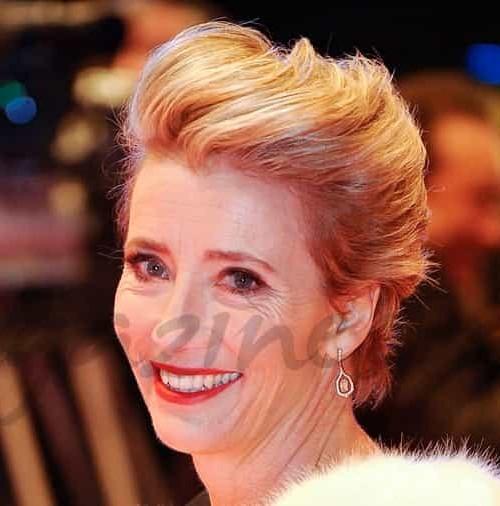 Emma Thompson presume de hija en la Berlinale