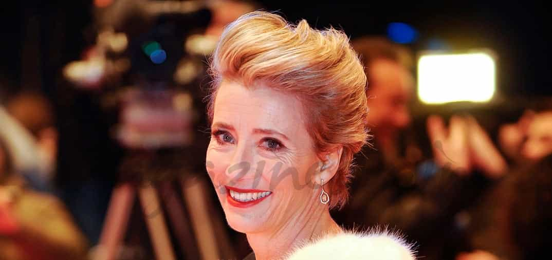 Emma Thompson presume de hija en la Berlinale