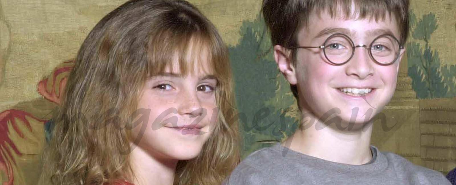 La transformación de Emma Watson y Daniel Radcliffe