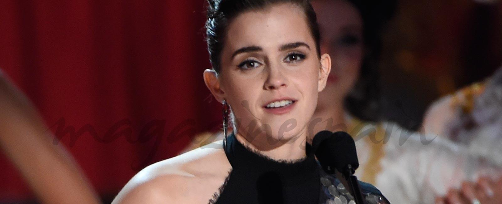 Emma Watson, primer premio mejor interpretación sin distinción de sexo