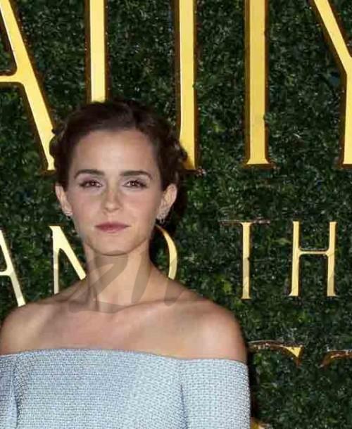 """Emma Watson se viste de princesa en el estreno de """"La Bella y la Bestia"""""""