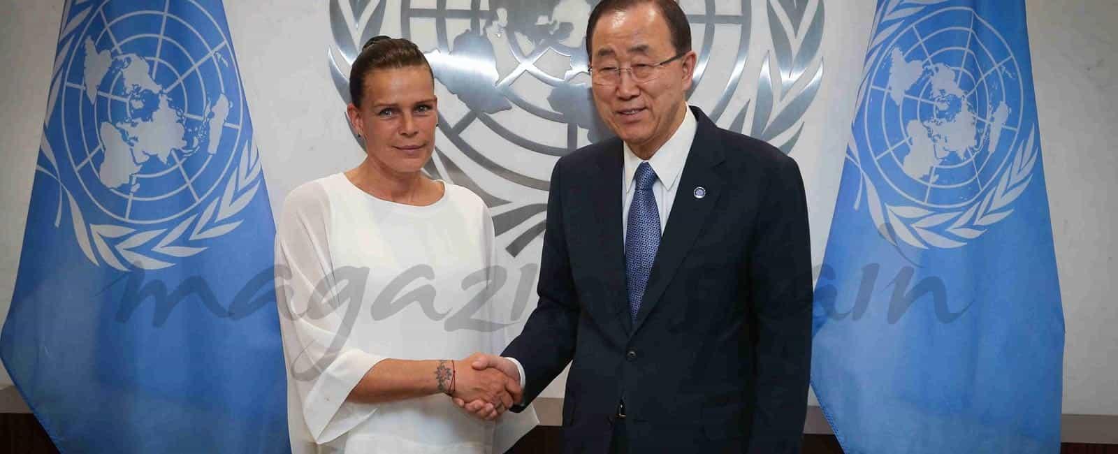 La princesa Estefanía, embajadora de la Buena Voluntad de la ONU