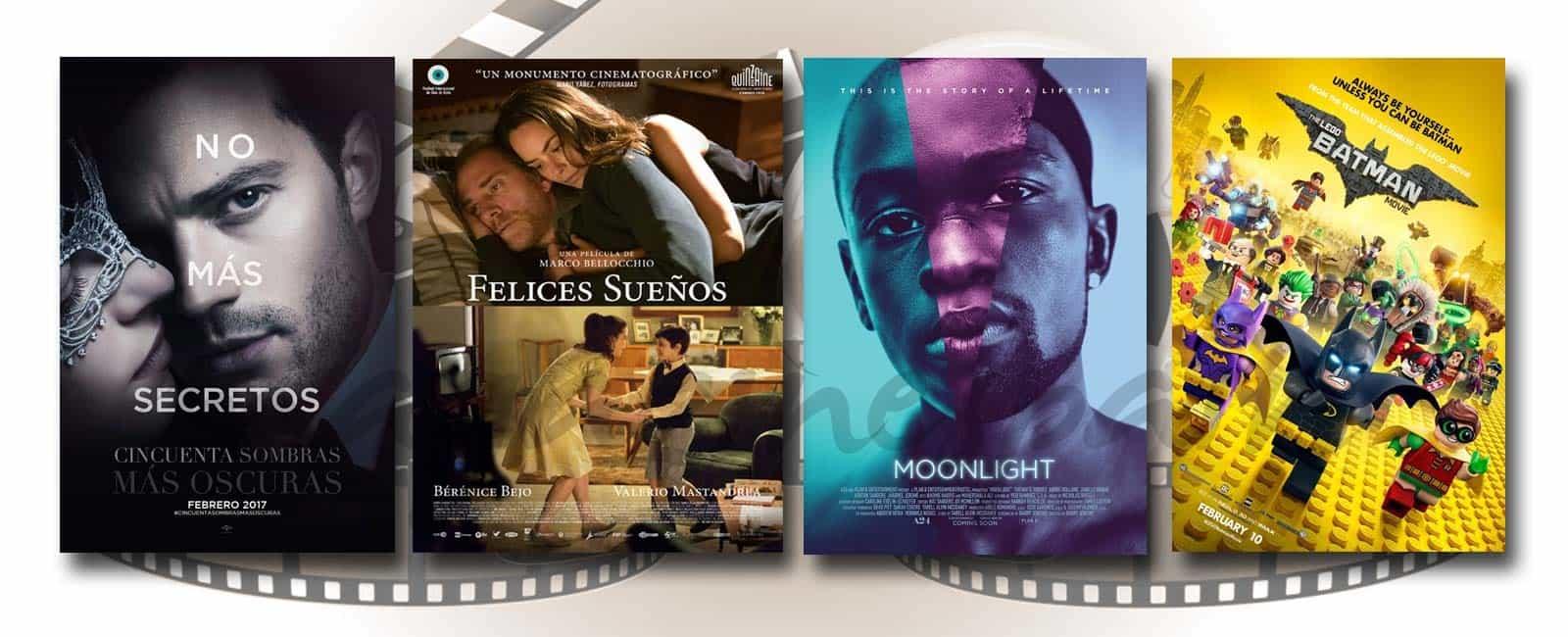 Estrenos de Cine de la Semana… 10 de Febrero 2017