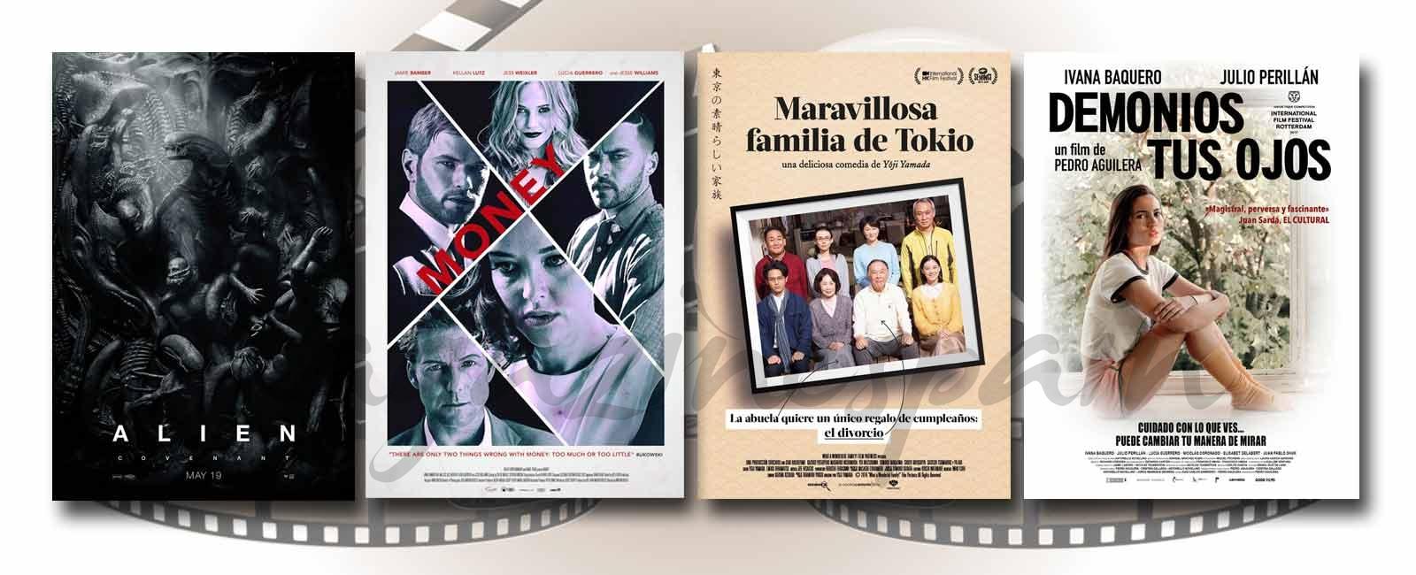 Estrenos de Cine de la Semana… 12 de Mayo 2017