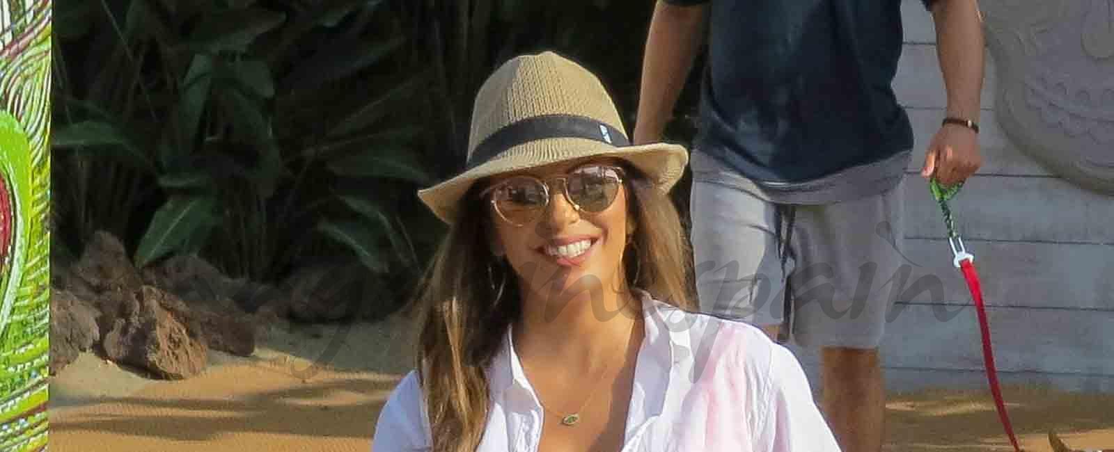 Eva Longoria llega a Marbella
