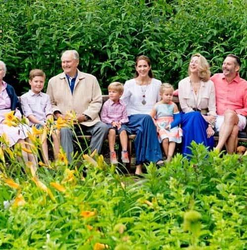 La Familia Real de Dinamarca y su posado de cada verano