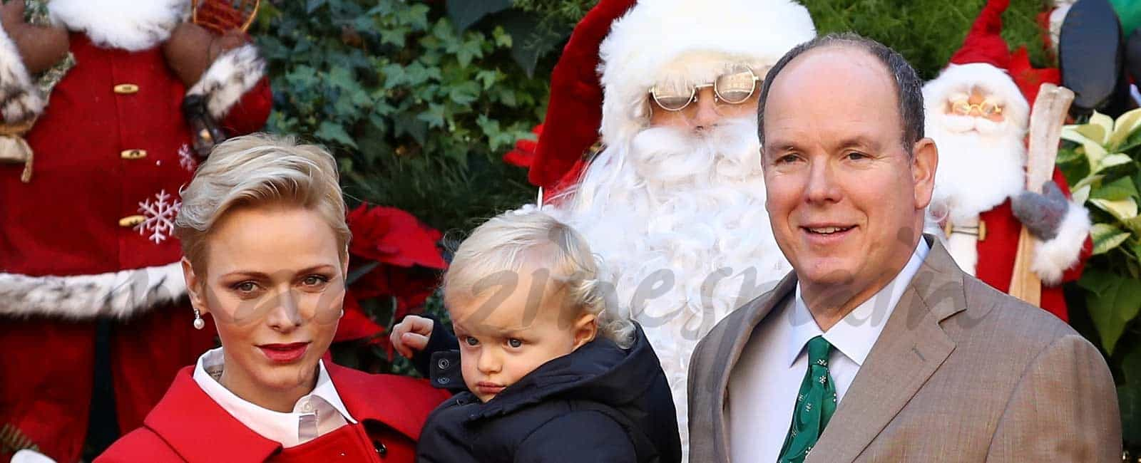 La Navidad llega al Palacio de Mónaco