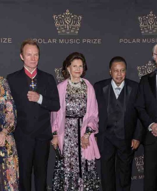"""La familia real sueca se viste de gala para entregar los """"Polar Music Prize"""""""
