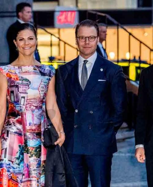 La Familia Real de Suecia, de concierto con motivo de la apertura del Parlamento