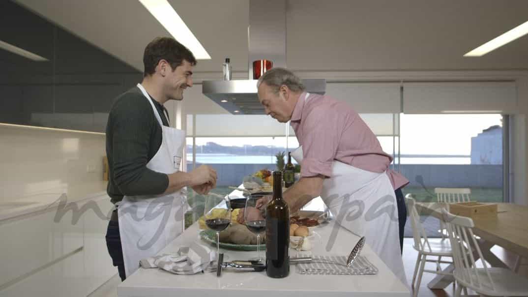 Iker Casillas y Bertín Osborne