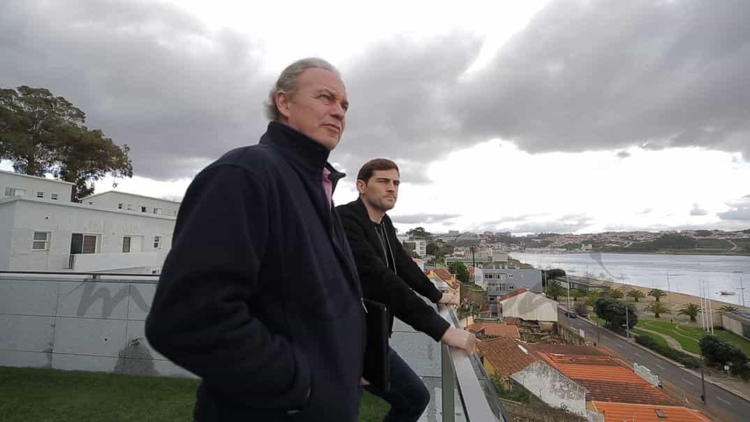 Bertín Osborne, Iker Casillas
