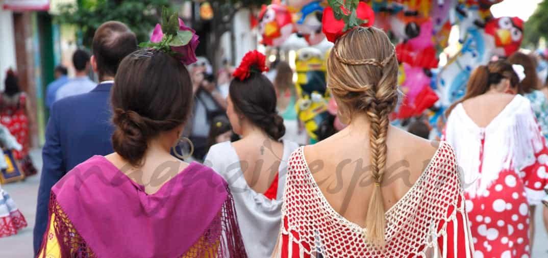 Feria de Abril en la Gran Vía