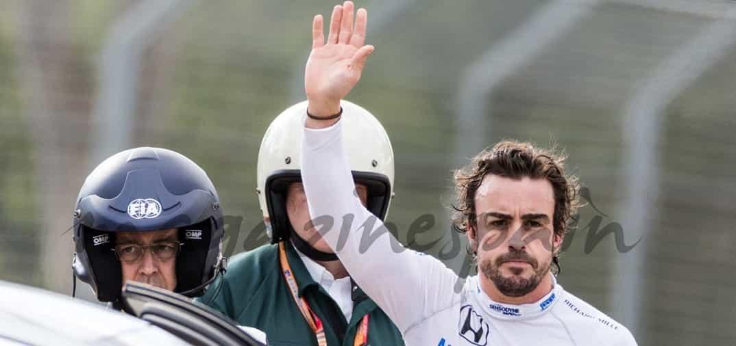 Fernando Alonso no está recuperado del accidente en Australia
