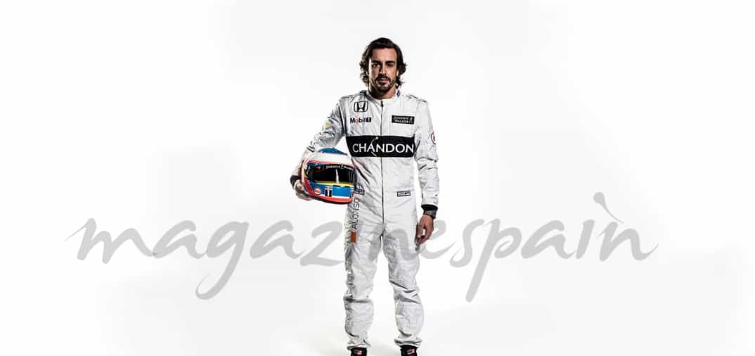 Fernando Alonso ya tiene su nuevo McLaren