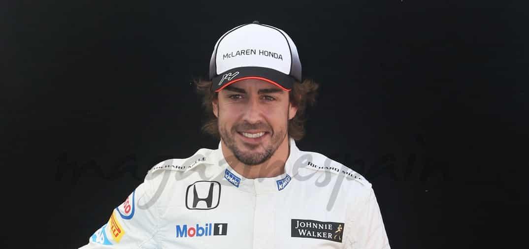 Fernando Alonso no pierde la sonrisa