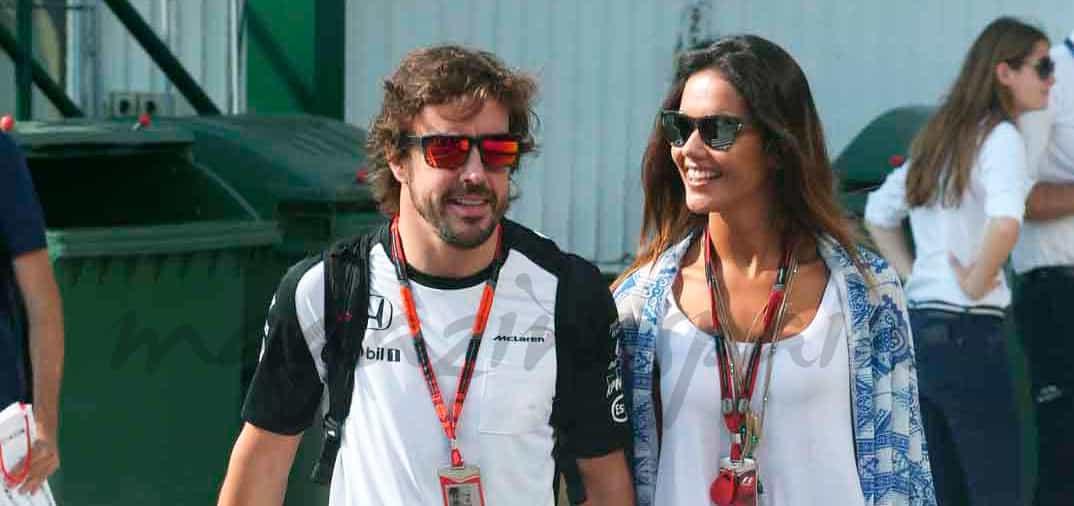 La felicidad del piloto de Formula 1, Fernando Alonso