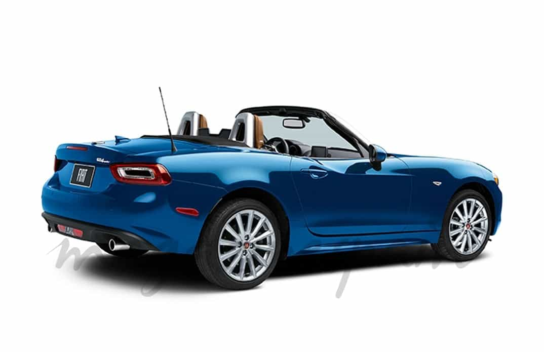 fiat revivie el mitico 124 spider