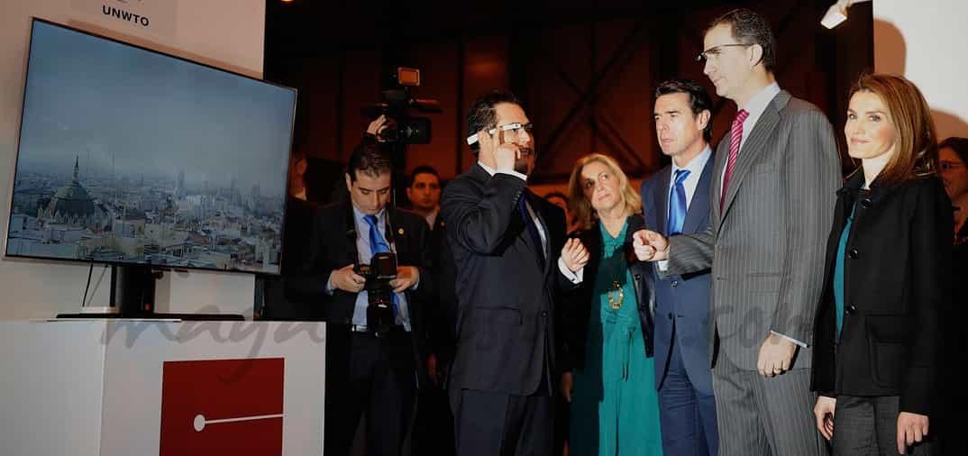 Los príncipes de Asturias inauguran Fitur