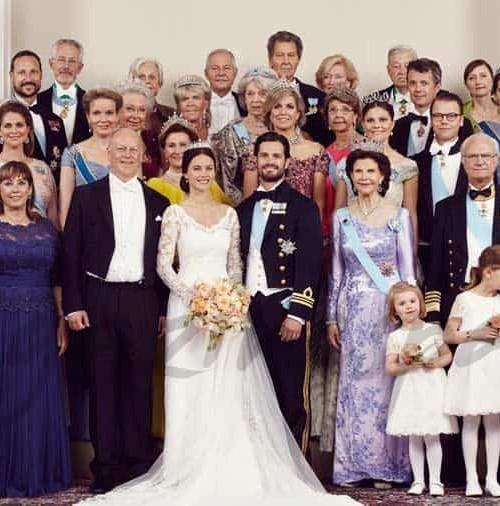 Las fotos oficiales de la boda del príncipe Carlos Felipe y Sofía Hellqvist