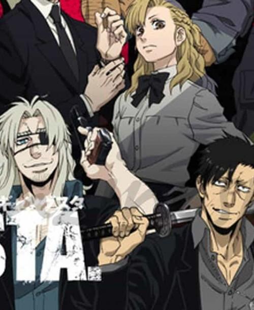 "La serie japonesa ""Gangsta"" llega a España"