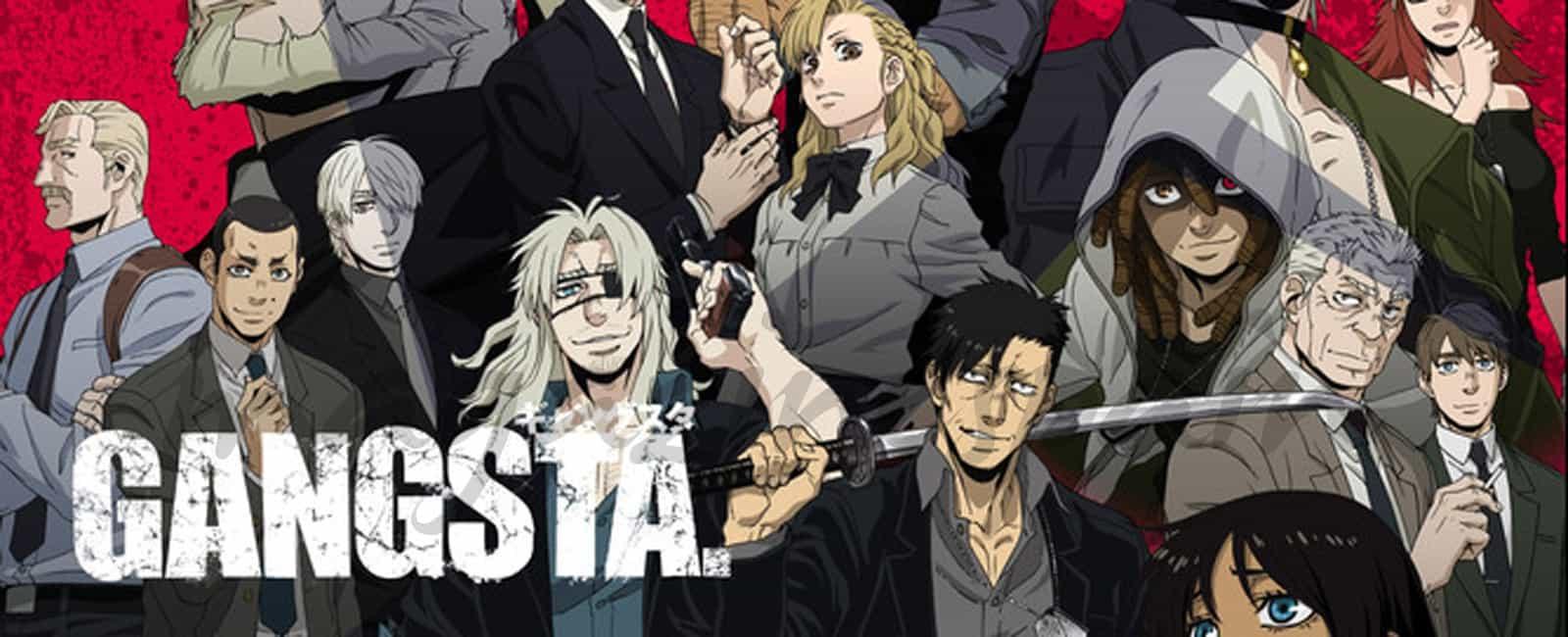 La serie japonesa «Gangsta» llega a España