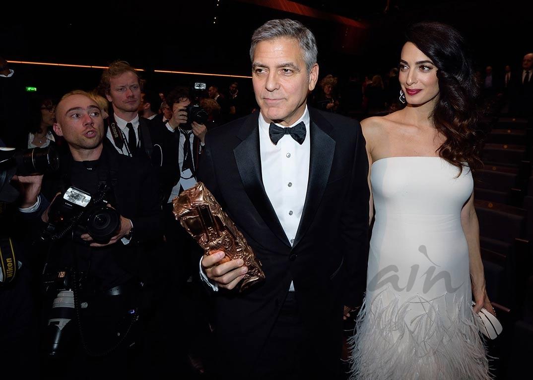 George Clooney Amal Clooney en la ONU