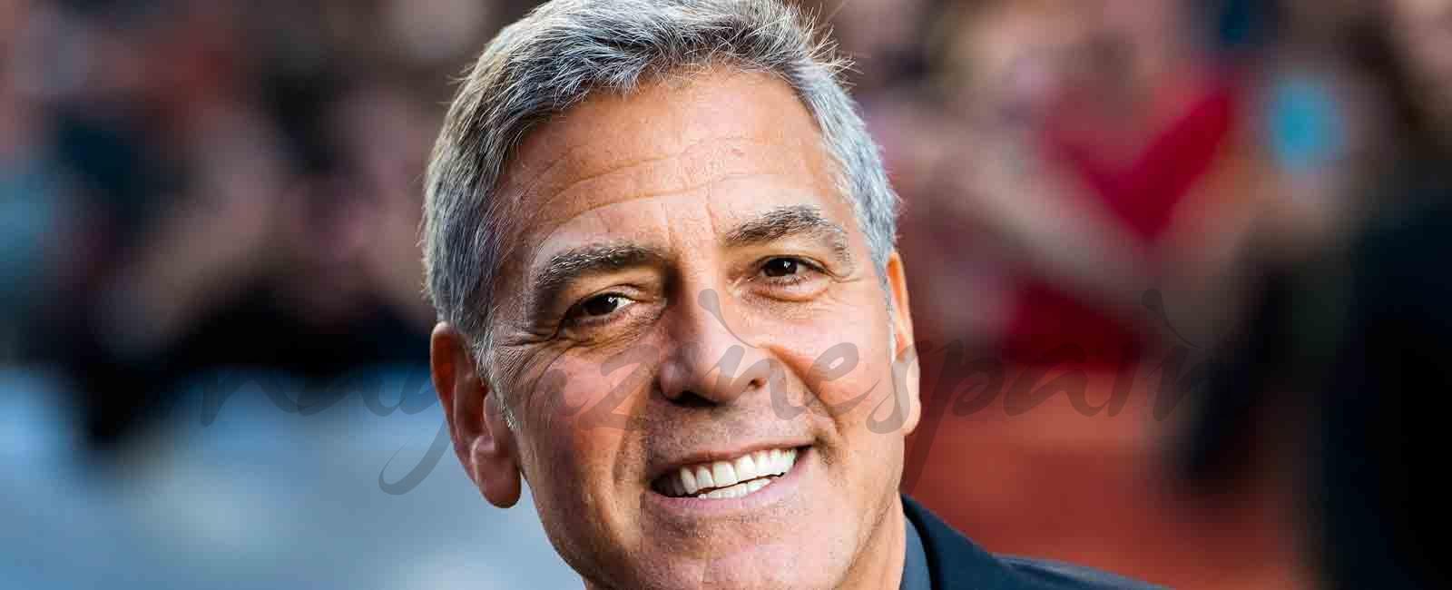 George Clooney regala a sus mejores amigos un millón de dólares
