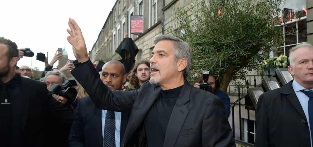 George Clooney solidario