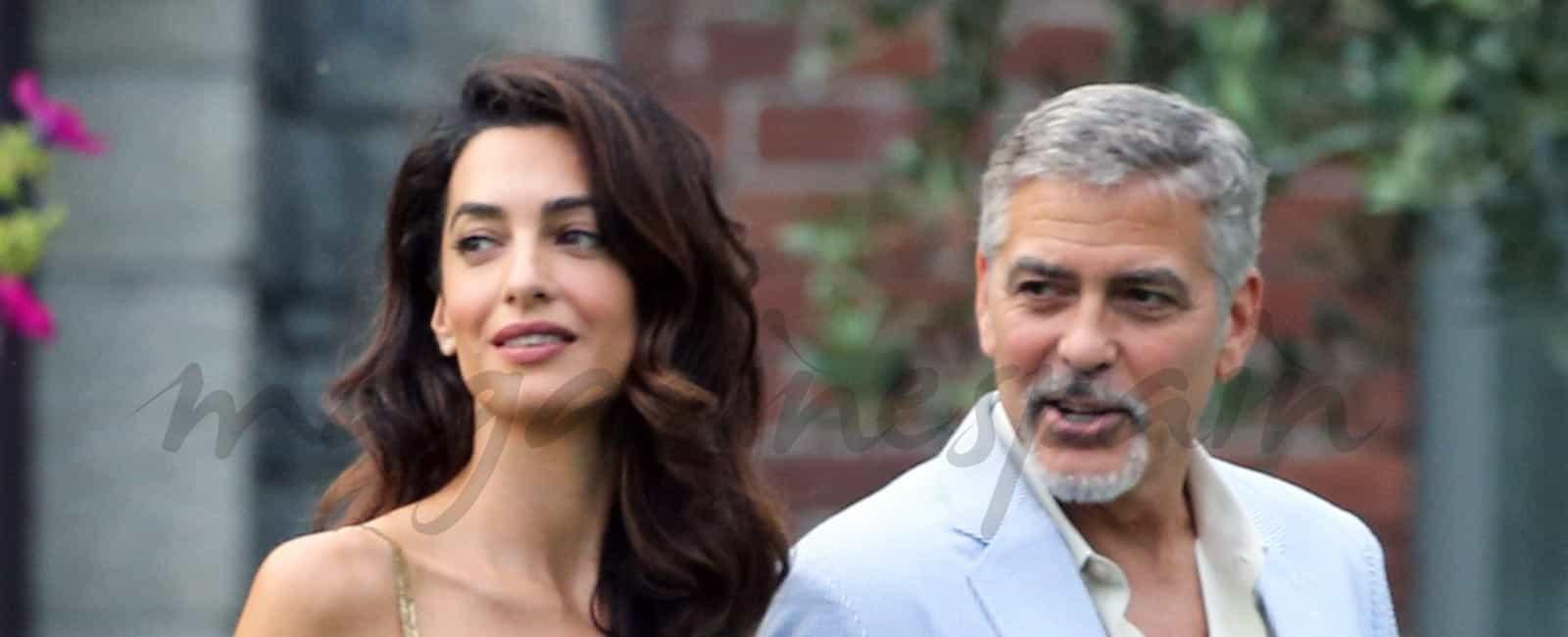 ¿A quién se parecen los mellizos de Amal y George Clooney?