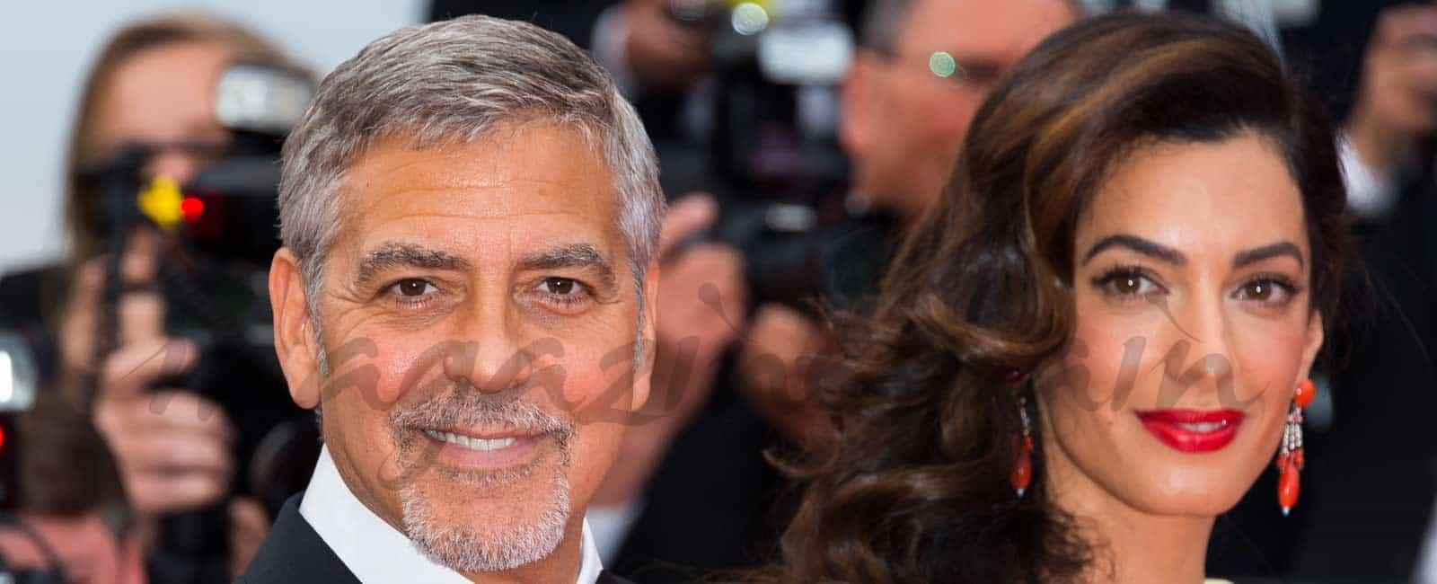 George Clooney y Amal Alamuddin, ¿boda por contrato?