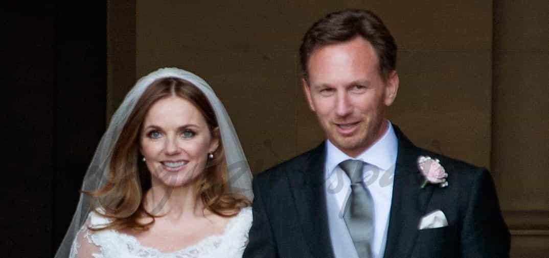 Geri Halliwell se casa con Christian Horner
