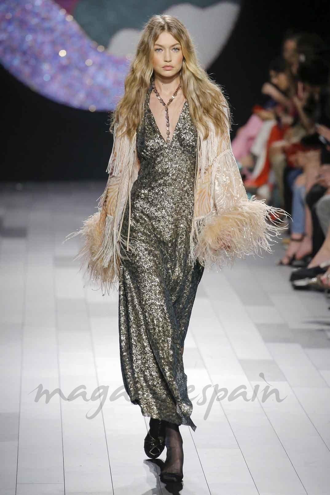 Gigi Hadid - NYFW SS10 - Anna Sui