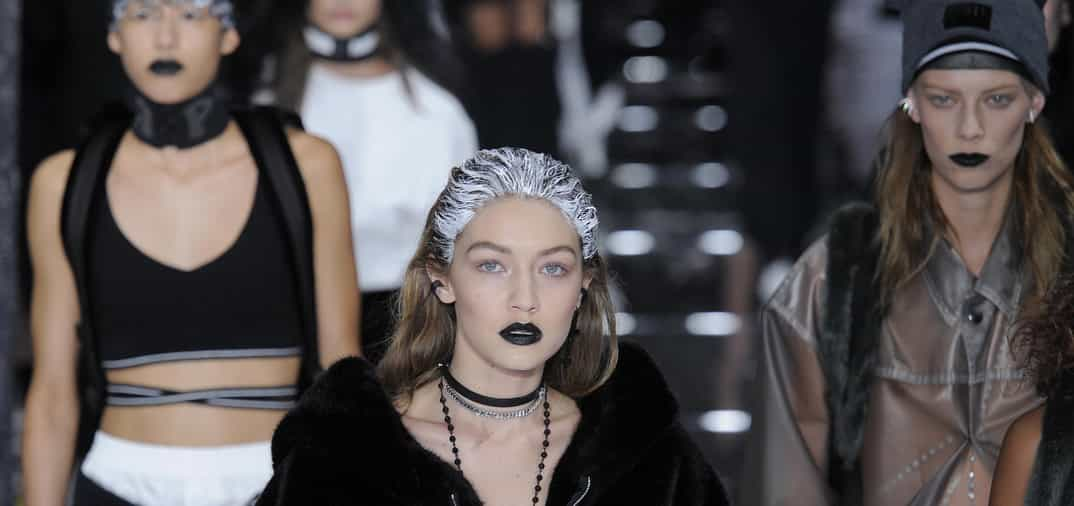 gigi hadid desfila para puma en new york fashion week