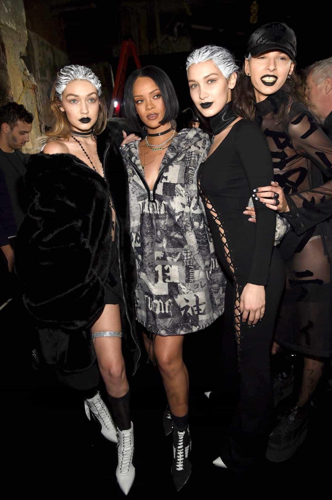 Gigi Hadid, Rihanna y Bella Hadid
