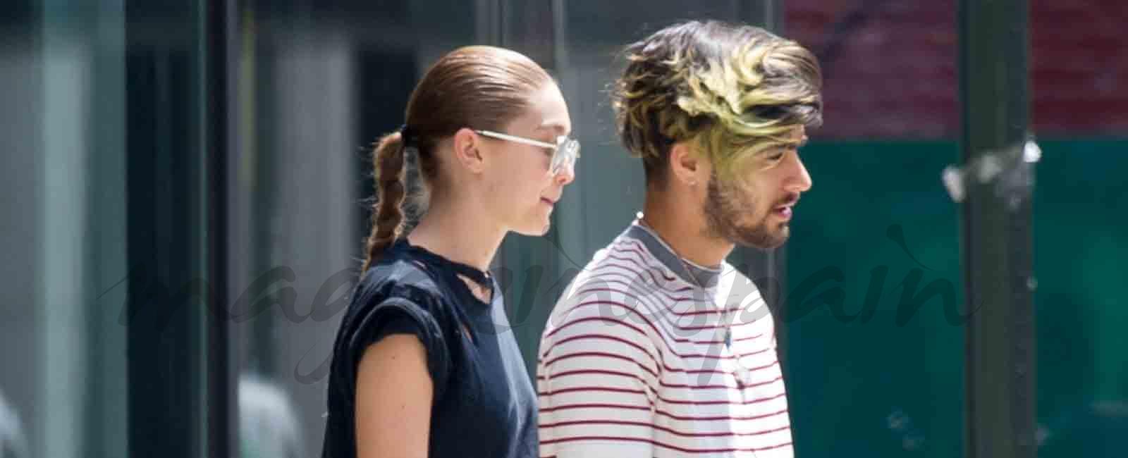 Gigi Hadid y Zayn Malik comparten estilista