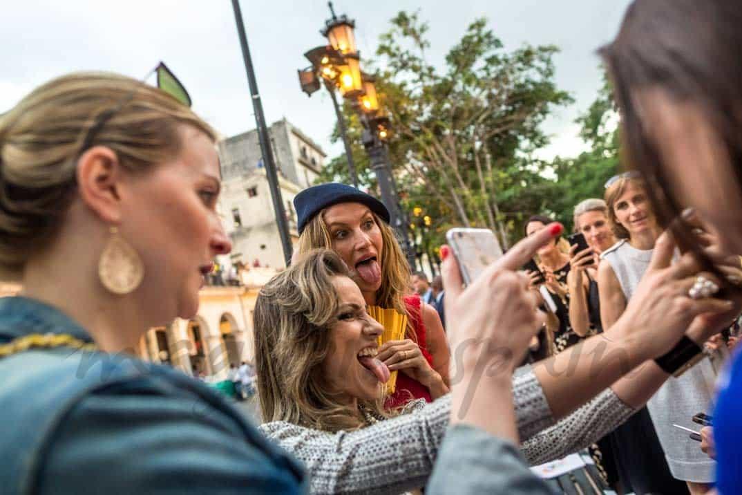 Gisele Bundchen desfile Chanel en Cuba