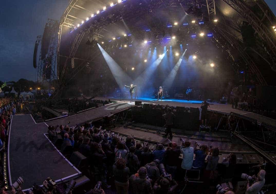 Los Rolling Stones revolucionan el Festival de Glastonbury