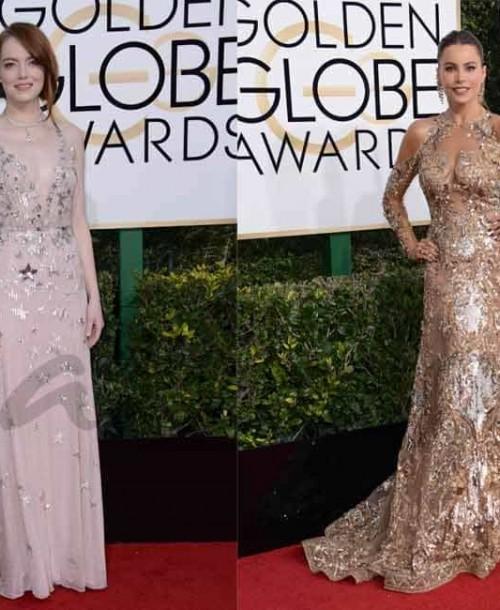 Globos de Oro 2017: el glamour de la alfombra roja