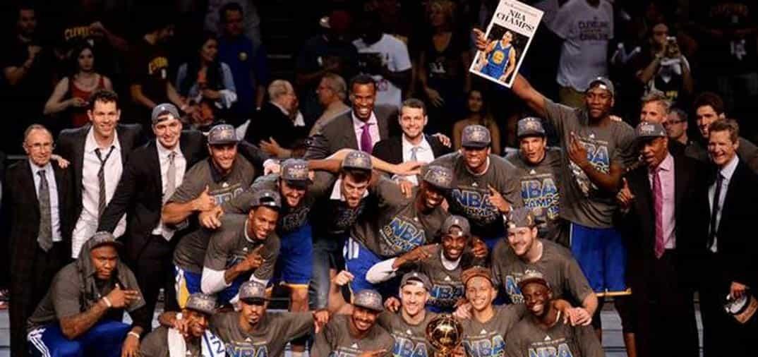 Golden State Warriors, campeones de la NBA