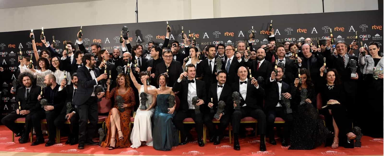 31º Premios Goya: Los galardonados