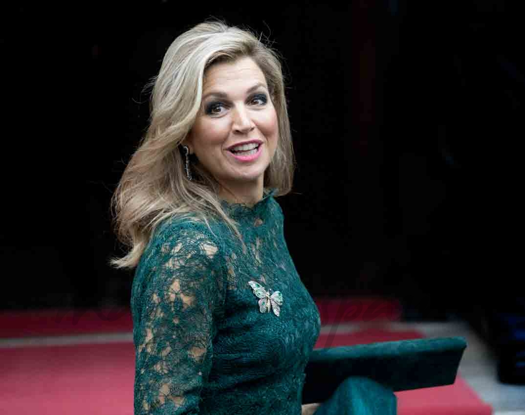 familia real holandesa en los premios principe clause