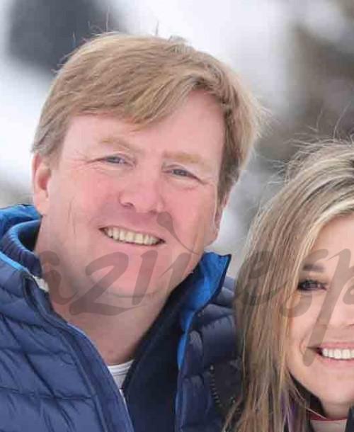 Máxima y Guillermo de Holanda, vacaciones en la nieve con sus hijas