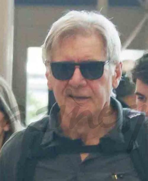 Harrison Ford y Calista Flockhart vacaciones en familia