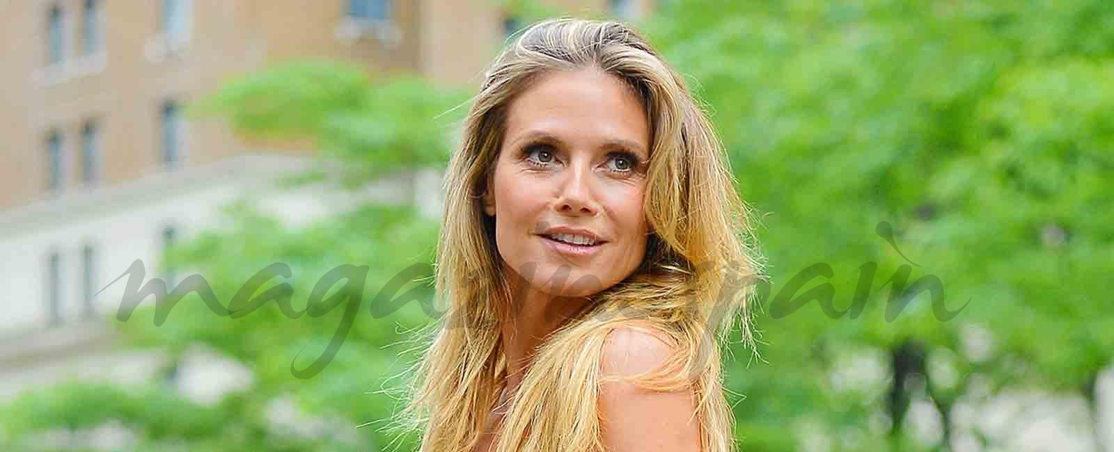 Heidi Klum se convierte en «Bella»