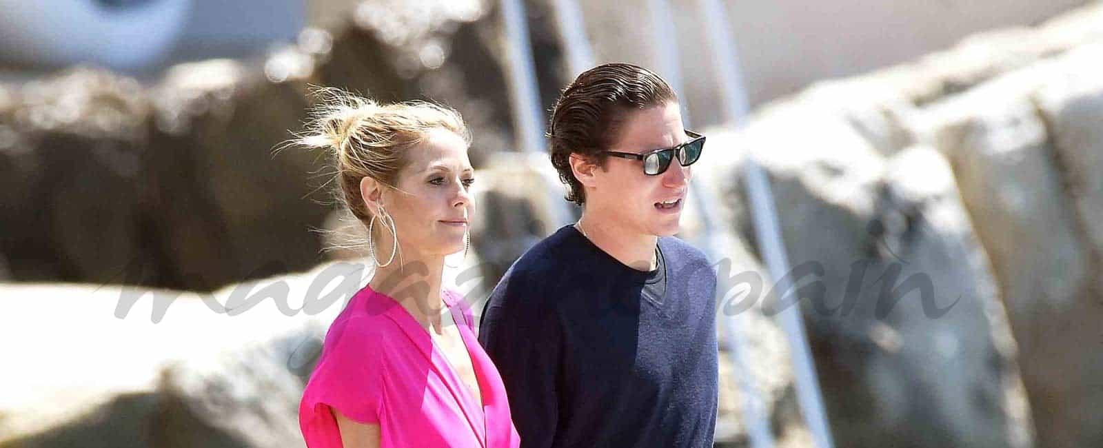 Heidi Klum y Vito Schnabel, vuelven al Festival de Cine de Cannes