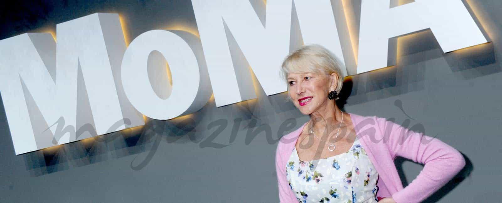 Helen Mirren, la invitada más elegante en el MoMA
