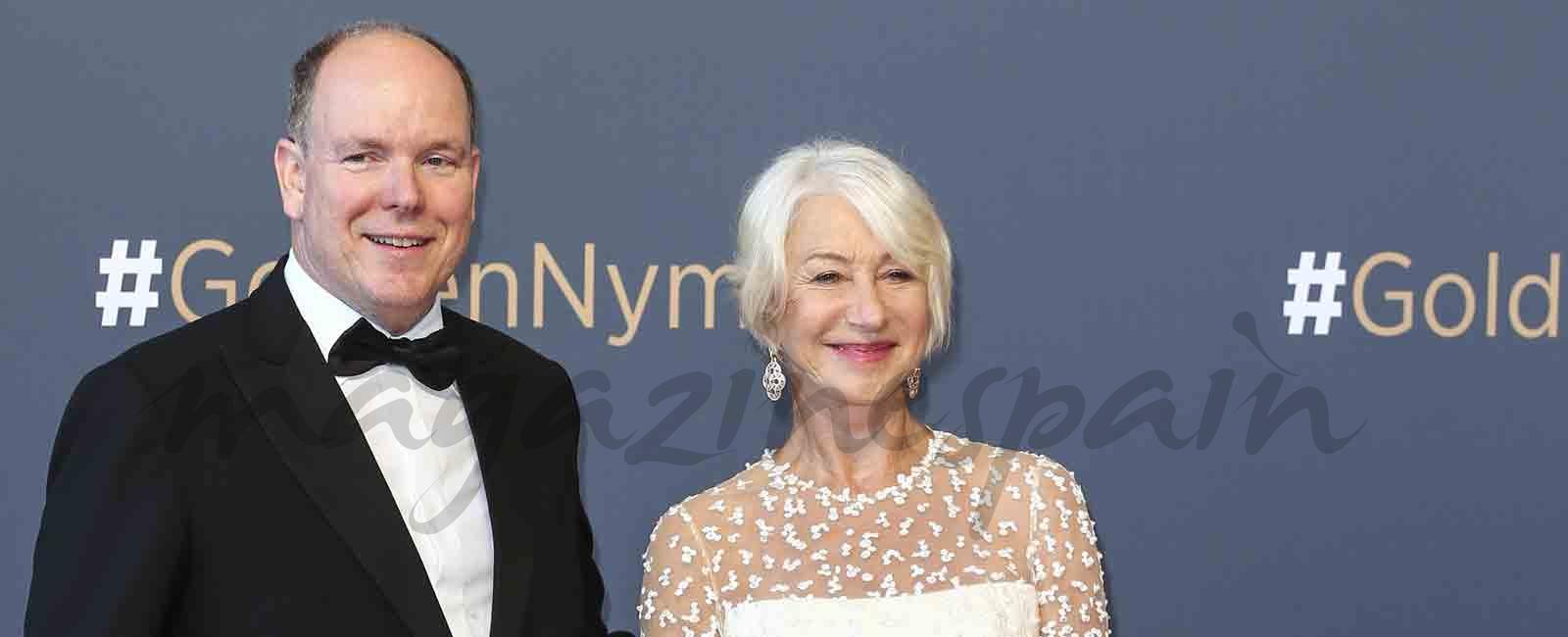Helen Mirren, homenajeada en Mónaco