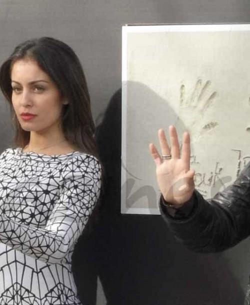 Hiba Abouk y Jordi Mollà solidarios con los niños