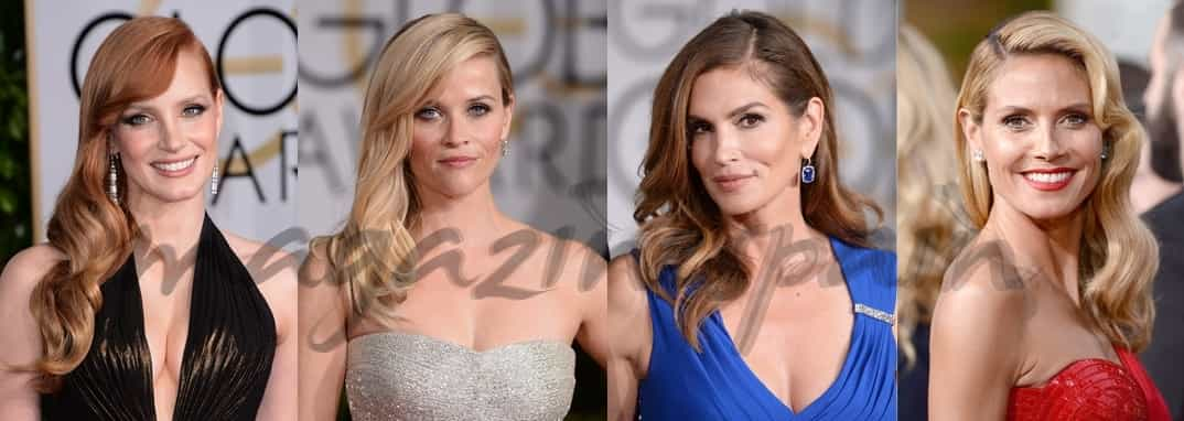 Jessica Chastain, Reese Witherspoon, Cindy Crawford y Heidi Klum